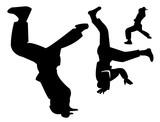hiphop dancers poster