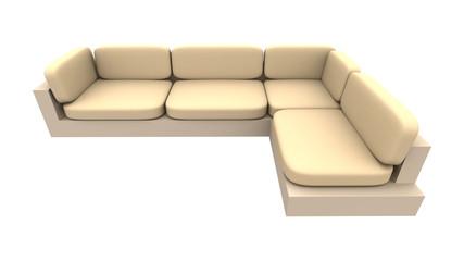 sofa - natürliches material 1