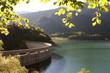 barrage sur le lac