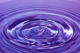 purple water fun poster