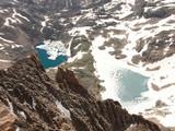 granite and loward lake, montana poster