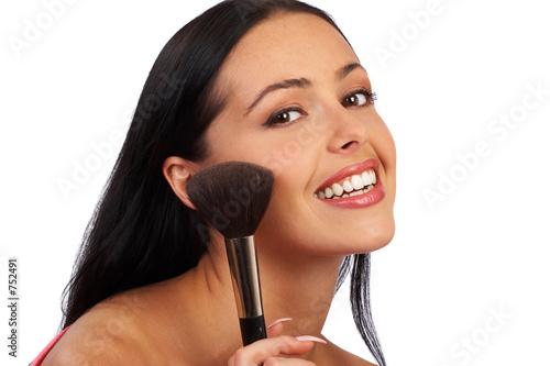 woman make up.