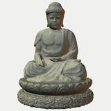 buddha - stein poster