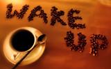 wake-up poster