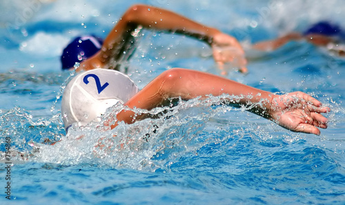 poster of swimming-pool