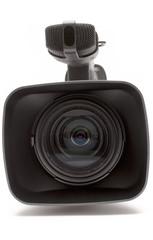 digital video camera (close front view)