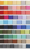 colour samples palette of fabric poster