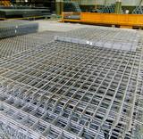 industry grid of steel poster