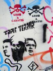 graffiti - triple terror