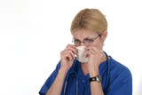 doctor or nurse with surgical mask 11 poster