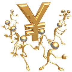 blind to yen