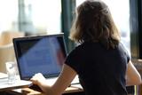 informatique au bureau poster