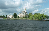 monastery nilov. view from lake