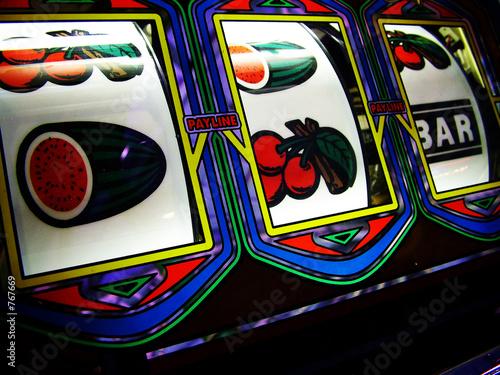 Poster slot machine