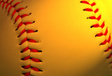 abstract baseball background poster