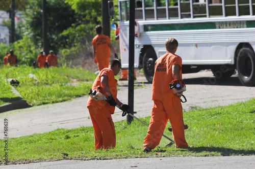 canvas print picture prisoner labor 1