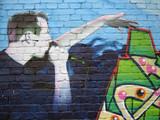graffiti - der hip hop mann poster
