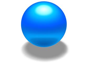 blue sphere ala aqua style