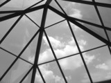 glass domed roof poster