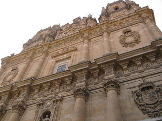 façade église à salamanque