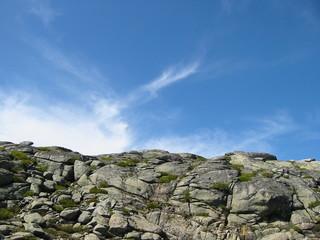ciel bleu sur montagnes (bis)