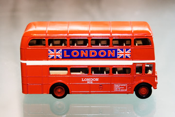 model of the london bus