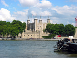 tower of london and river thames poster
