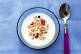 breakfast cereal poster