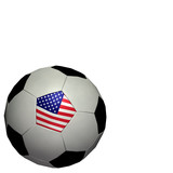 world cup soccer/football - usa poster
