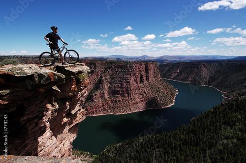 Fotobehang Wielersport mountain biking
