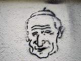 stencil - die heiligkeit poster