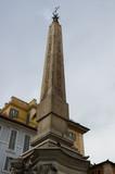 obelisk, rome, italy poster