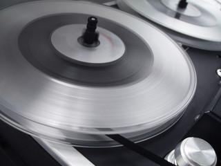 tape reel spin