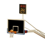 basketball board with 24 seconds timer poster