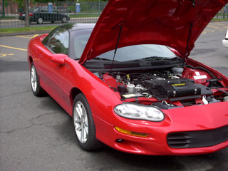 pop the hood on that camaro