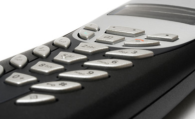 cordless telephone (detail view)
