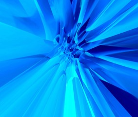 blue glow background