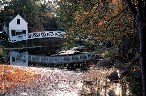 sommes bridge,maine
