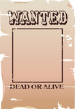wanted poster poster