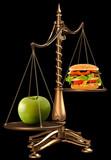apples instead of hamburgers poster