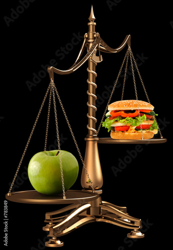 apples instead of hamburgers