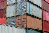 shipping containers poster