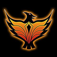 phoenix (black background)