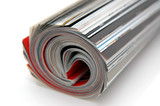 roll of magazine poster