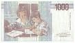 1,000 italian lire (reverse)