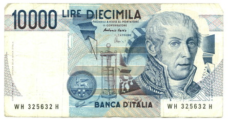 10,000 italian lire