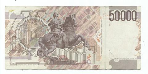50000 italian lire