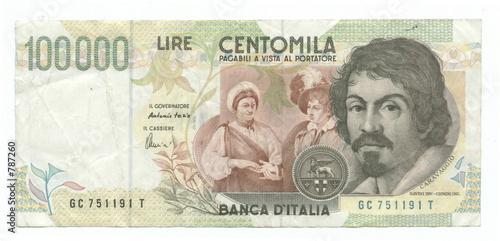 100,000 italian lire