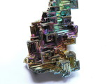bismuth crystals poster