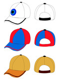 baseball cap poster